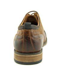 Steve Madden - Multicolor Jamyson Men Cap Toe Leather Tan Oxford for Men - Lyst