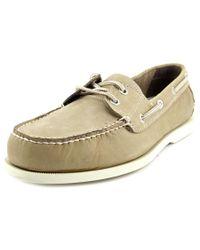 Dockers - Gray Vargas Men Moc Toe Leather Boat Shoe for Men - Lyst