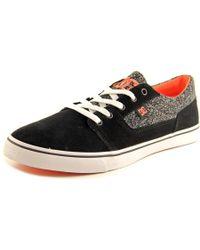 DC Shoes - Black Tonik W Se Round Toe Suede Sneakers - Lyst