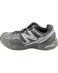 New Balance - Mx416 Men 2e Round Toe Synthetic Black Walking Shoe for Men - Lyst