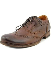 Bed Stu - Axis Men Round Toe Leather Brown Oxford for Men - Lyst