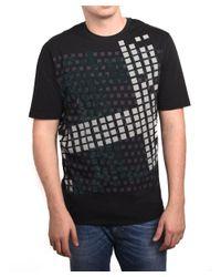 Ermenegildo Zegna - Z Zegna By Men Textured Graphic T-shirt Black for Men - Lyst