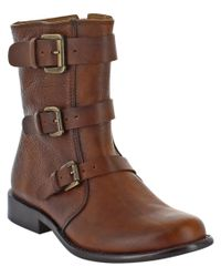 Corso Como | Brown Kandace Leather Boot | Lyst