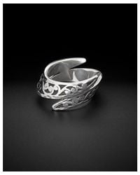 Lois Hill - Metallic Silver Cut-out Band - Lyst