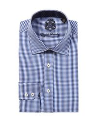 English Laundry - Blue Dress Shirt for Men - Lyst