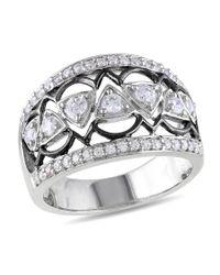 Catherine Malandrino | Metallic Vintage Gemstone Ring | Lyst