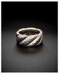 Scott Kay - Metallic Silver Band Ring - Lyst