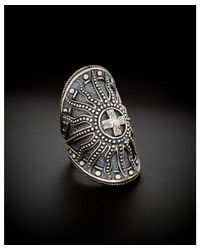 Scott Kay | Metallic Silver Men's Armour Cross Ring for Men | Lyst