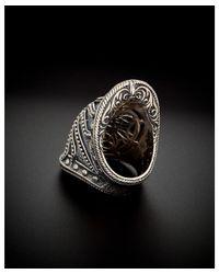 Scott Kay - Metallic Silver Men's Armour Cross Ring for Men - Lyst