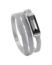 Baccarat - Metallic So Insomnight Silver Crystal Bracelet - Lyst