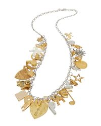 Sugar NY | Metallic Sweet Charm Necklace | Lyst