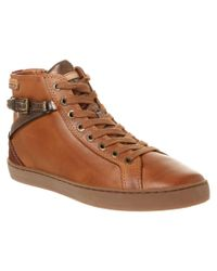 Pikolinos | Brown Yorkville Leather Sneaker | Lyst