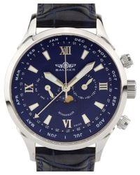 Balmer - Blue Phantom Ii Swiss Made Men's Complete Calendar Watch for Men - Lyst
