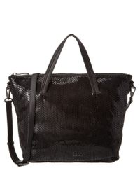Sorial | Black Leather Rubina Satchel | Lyst