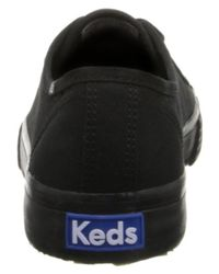 Keds | Black Women's Double Up Core Fashion Sneaker | Lyst