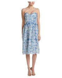 Parker | Blue Azalea Midi Dress | Lyst