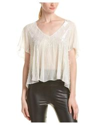 Parker - White Jack Top - Lyst