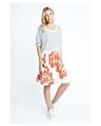 Karen Zambos | Multicolor Coral Virginia Skirt | Lyst