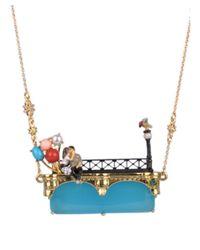 Les Nereides | Multicolor Paris My Love Long Necklace | Lyst