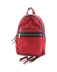 French Connection | Piper Backpack Style Women Nylon Red Backpack | Lyst