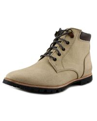 Woolrich | Natural Beebe Round Toe Canvas Boot for Men | Lyst