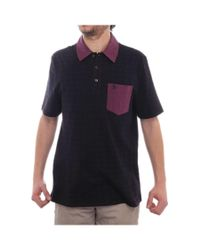 Original Penguin | Black Short Sleeve Collared Polo Men Regular Polo Shirt for Men | Lyst