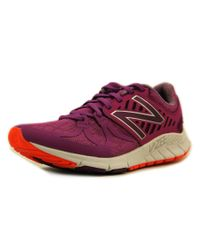 New Balance - Purple Rush Round Toe Synthetic Sneakers - Lyst