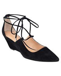 Sigerson Morrison - Black Wynne Suede Dress Shoe - Lyst