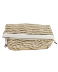 Kenneth Cole Reaction | Multicolor Mesh Is More Clutch Women Synthetic Tan Clutch | Lyst