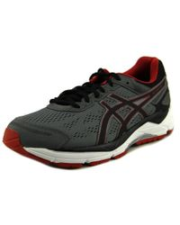 Asics | Gel-fortitude 7 Men Round Toe Synthetic Gray Running Shoe for Men | Lyst