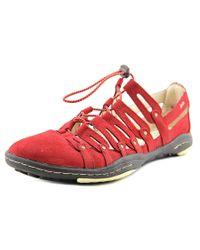 Jambu   El Dorado Women Round Toe Synthetic Red Sneakers   Lyst