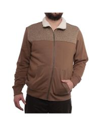 Weatherproof | Zip-front Sweater Jacket Basic Jacket Brown Marl for Men | Lyst