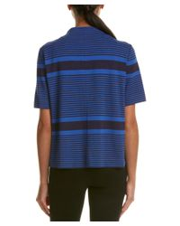 Lafayette 148 New York - Blue Elbow-sleeve Top - Lyst