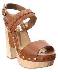 Cynthia Vincent | Multicolor Potent Leather Sandal | Lyst