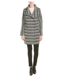 Shoshanna - Multicolor Wool-blend Coat - Lyst