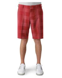 Adidas Originals | Red Adidas Ultimate Competition Plaid Short for Men | Lyst