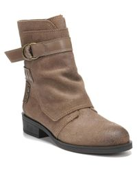 Fergie   Brown Neptune Leather Boot   Lyst
