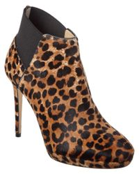 Jimmy Choo   Multicolor Talula 100 Leopard Print Pony Ankle Boot   Lyst
