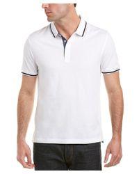 Original Penguin - White Heritage Slim Fit Contrast Polo for Men - Lyst