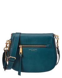 Marc Jacobs | Blue Recruit Leather Saddle Bag | Lyst