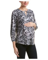 Everly Grey | Multicolor Maternity Lila Top | Lyst