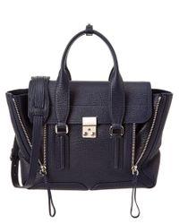 3.1 Phillip Lim   Black Pashli Medium Leather Satchel   Lyst