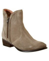 Seychelles | Natural Lucky Penny Suede Bootie | Lyst