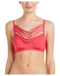 Kensie | Pink Bikini Top | Lyst