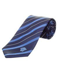 Versace - Blue Silk Tie for Men - Lyst