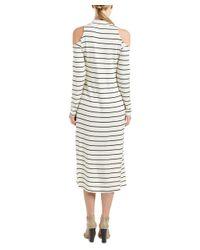 Splendid - White Envelope Midi Dress - Lyst