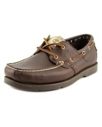 Timberland | Brown Kia Wah Bay Moc Toe Synthetic Boat Shoe | Lyst