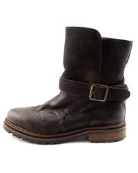 Hudson Jeans - Black Tatham Round Toe Synthetic Ankle Boot - Lyst