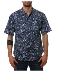 Vivienne Westwood | Men's 65282504j36492 Blue Cotton Shirt for Men | Lyst