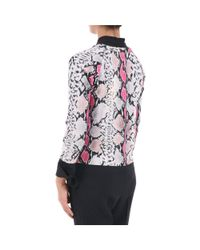 Blugirl Blumarine - Women's Multicolor Polyester Jumper - Lyst